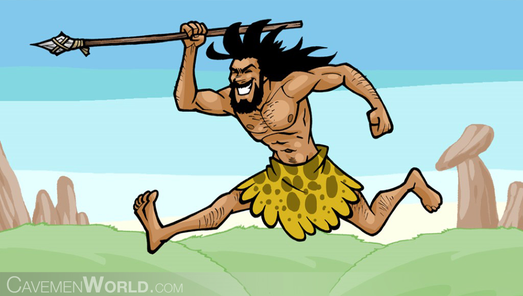 Thousands of animated gifs, images, pictures Pictures of cavemen hunting
