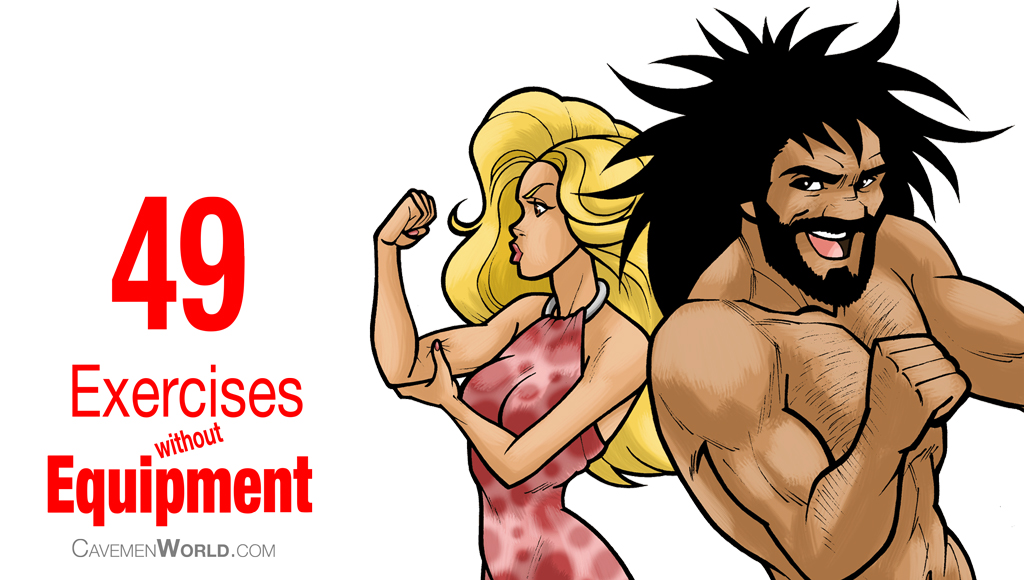 49 Exercises Without Equipment